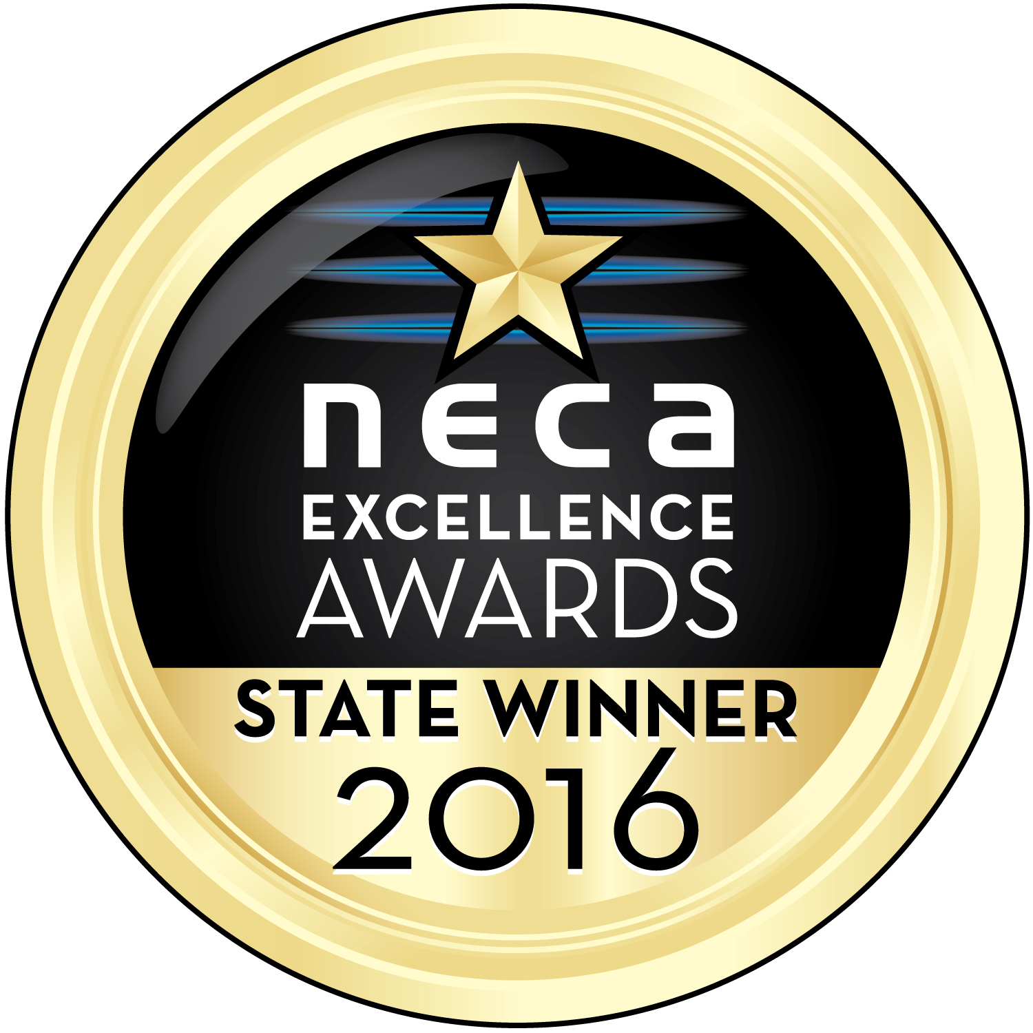NECA_GoldAwardMedal_2016_EXCELLENCE_StateWinner