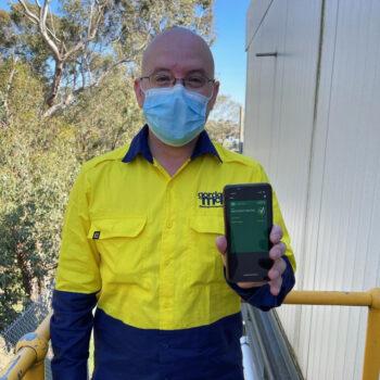 Gordon McKay team member Anthony Fantin has had the COVID jab